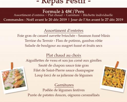 Repas Festif - Saveurs & Prestige